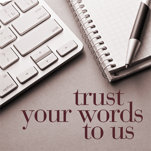 image: MulberryStudio: trust your words to us